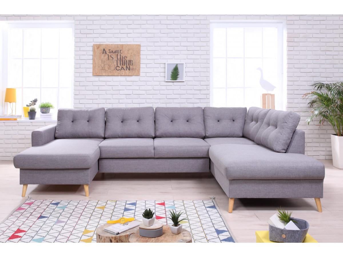 canape fixe panoramique xxl scandi bobochic. Black Bedroom Furniture Sets. Home Design Ideas