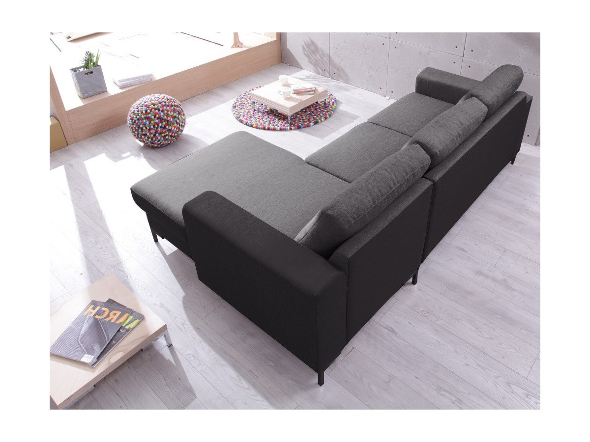 canap d 39 angle convertible coffre lilly bobochic. Black Bedroom Furniture Sets. Home Design Ideas