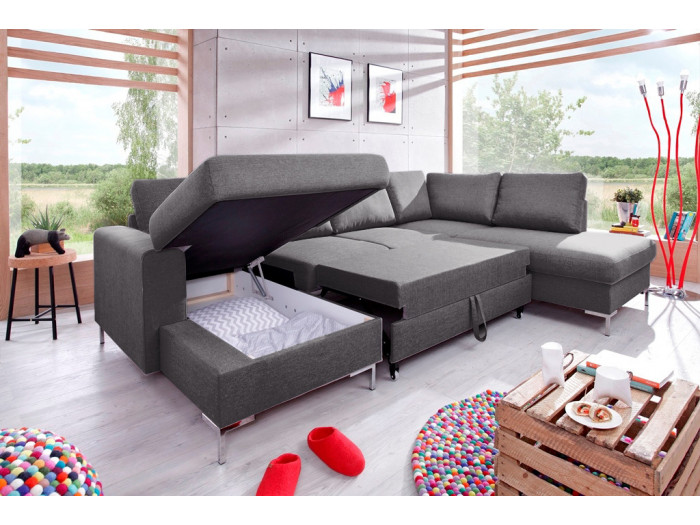 Convertible Sofa With Storage U Lilly