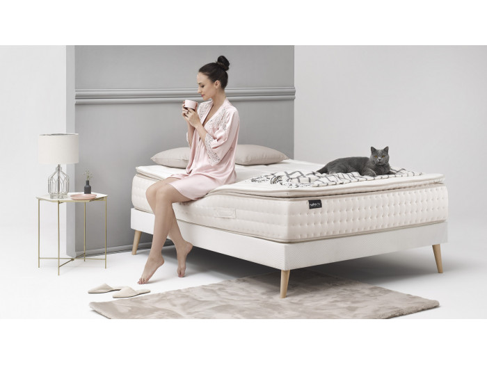 Set Mattress + Bed base Cashmere