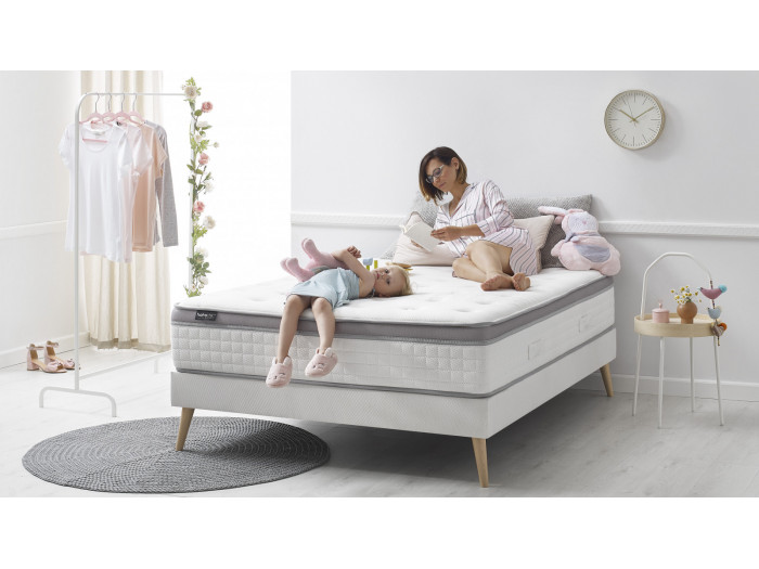 Set Mattress + bed base Douceur