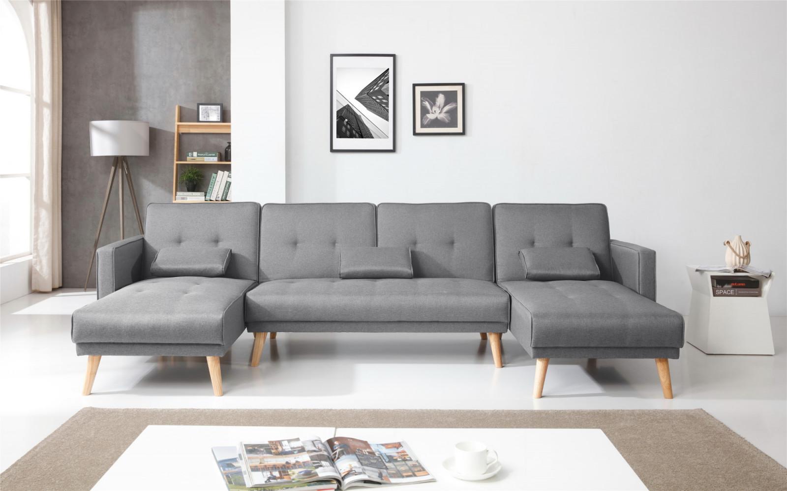 ecksofa gallery of selsey ecksofa eckcouch kopenhagen in grau mit federkern bettkasten hocker. Black Bedroom Furniture Sets. Home Design Ideas
