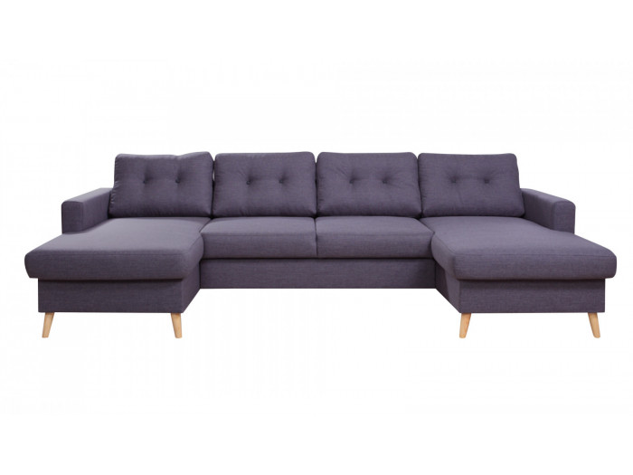Double sofa meridienne SCANDI fixed