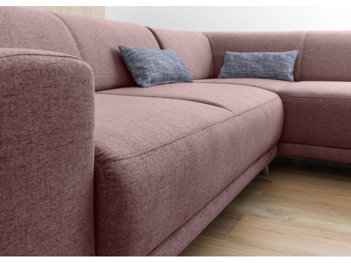 Corner sofa panoramic convertible safe BELLA