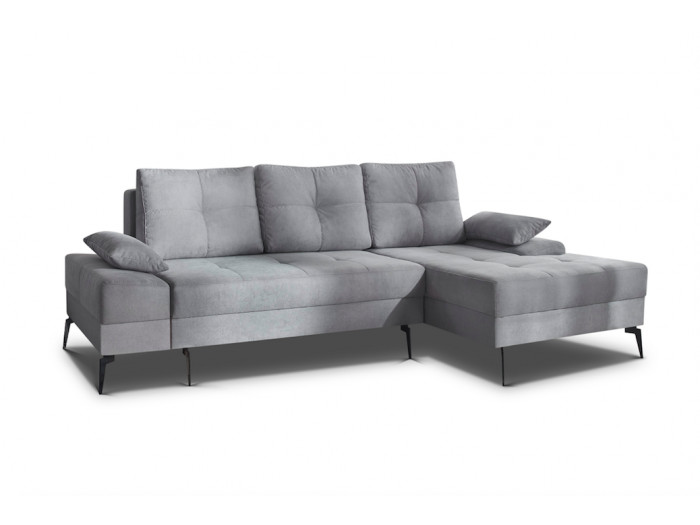 Corner sofa convertible with storage SVEN III