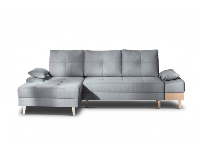 Corner sofa convertible with trunk SVEN I