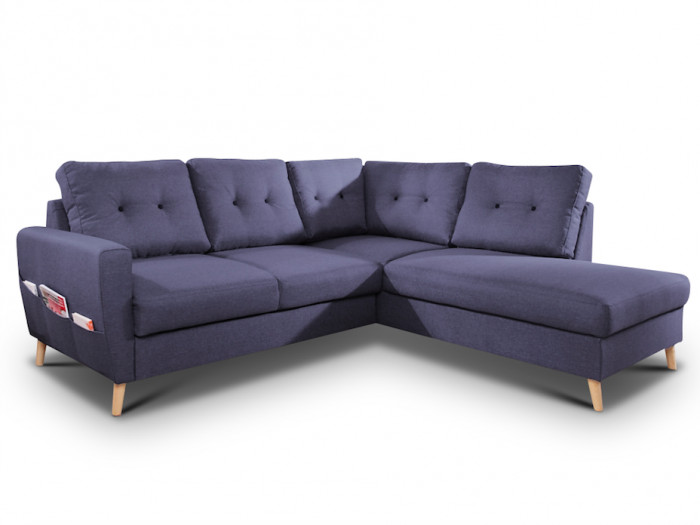 Corner convertible sofa THE SCANDI
