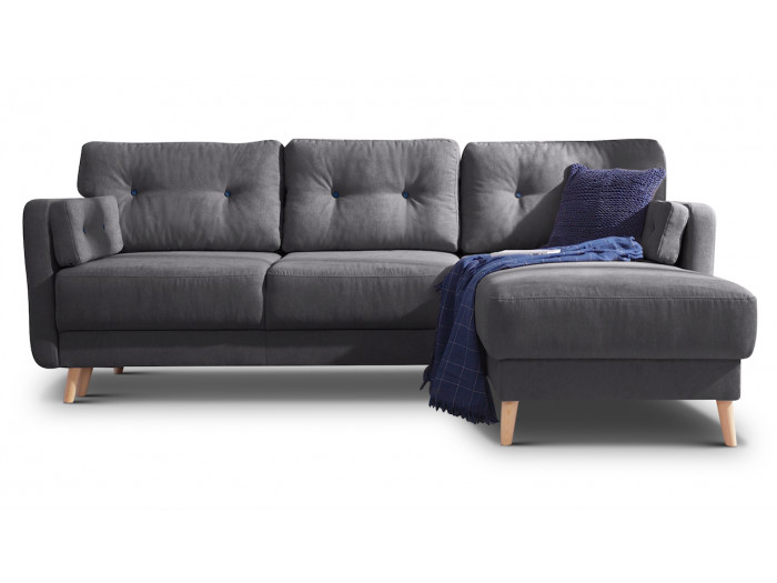 Corner sofa convertible reversible with storage COPENHAGEN