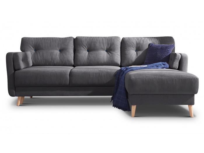 Corner sofa reversible convertible trunk COPENHAGEN