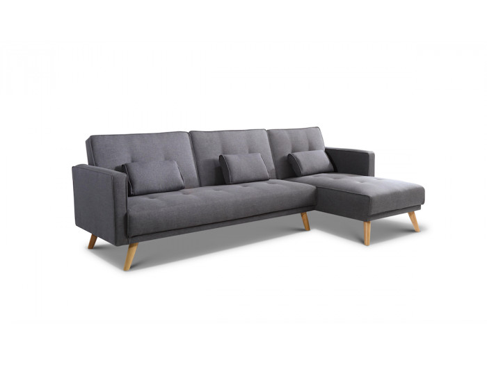 Convertible reversible corner sofa HELLY