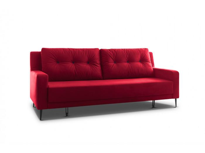 Sofa prawy cabrio aksamit BERGEN