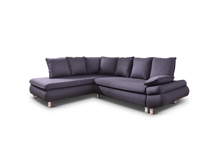 Sofa large corner convertible with storage NESTOR