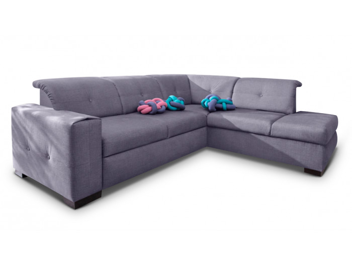 big corner sofa L convertible GENEVA