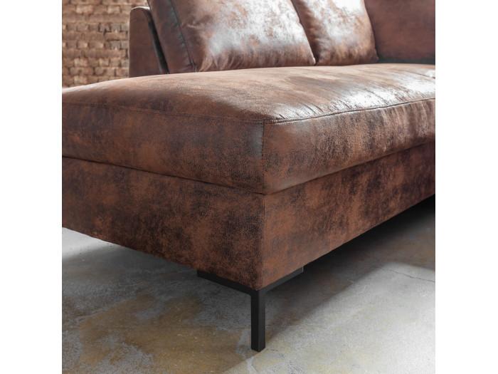 Corner sofa fixed panoramic LILLY