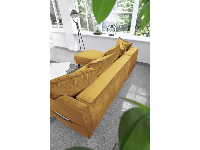 Canapé d'angle convertible coffre NEW ENGLAND