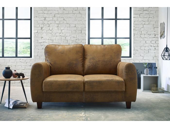 Conjunto de sofás de 2 plazas FELICITA + sillón + sillón