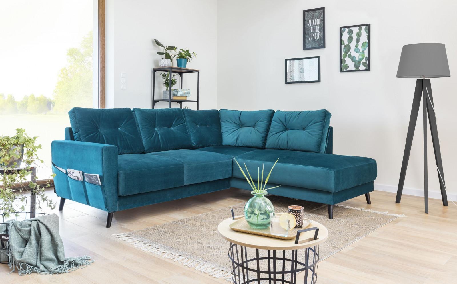 Corner sofa sets Scandi THE VELVET