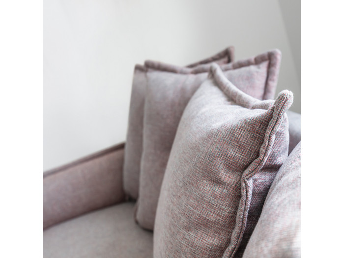 Sofa 3 places fixed-LENA