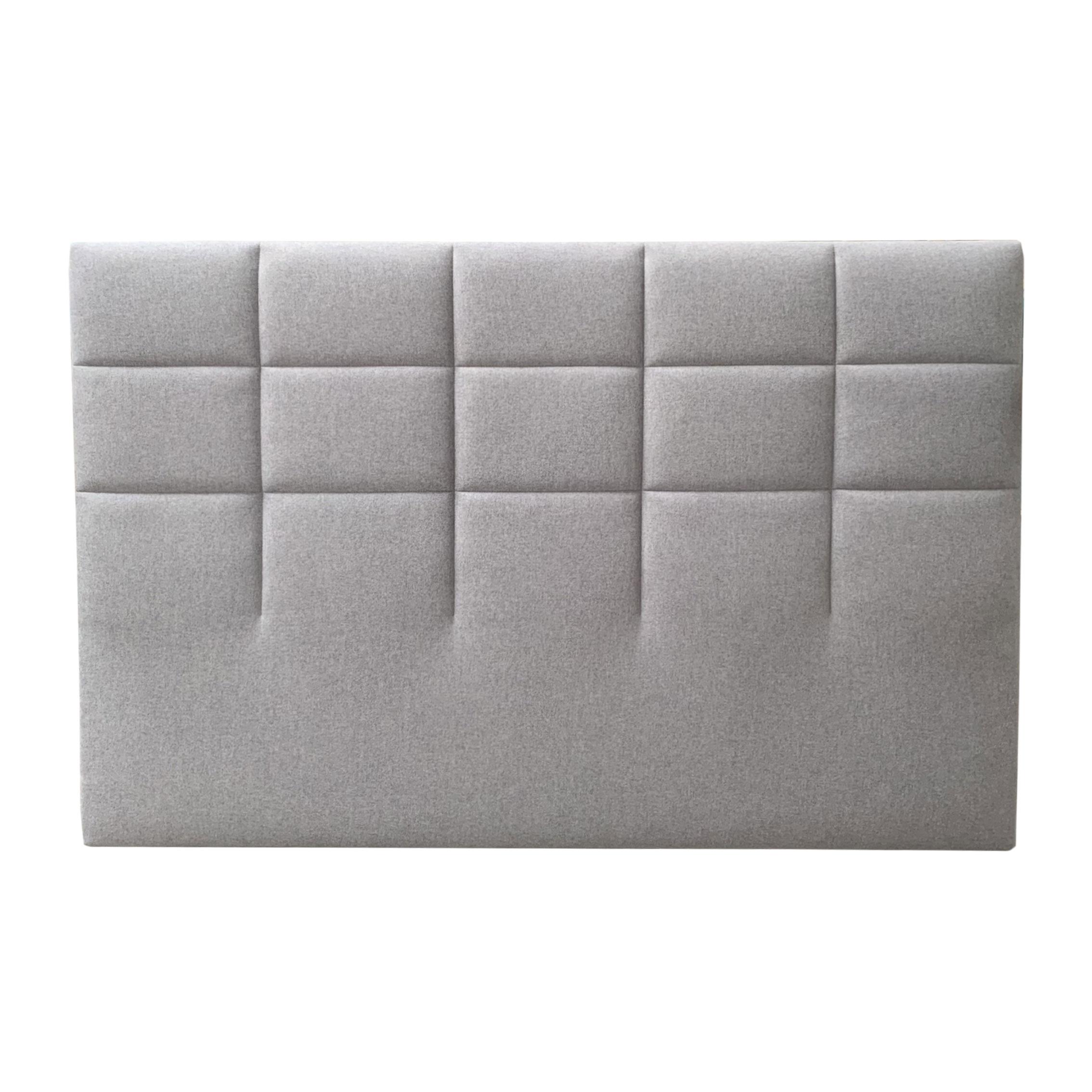 Tête de lit CARRE gris