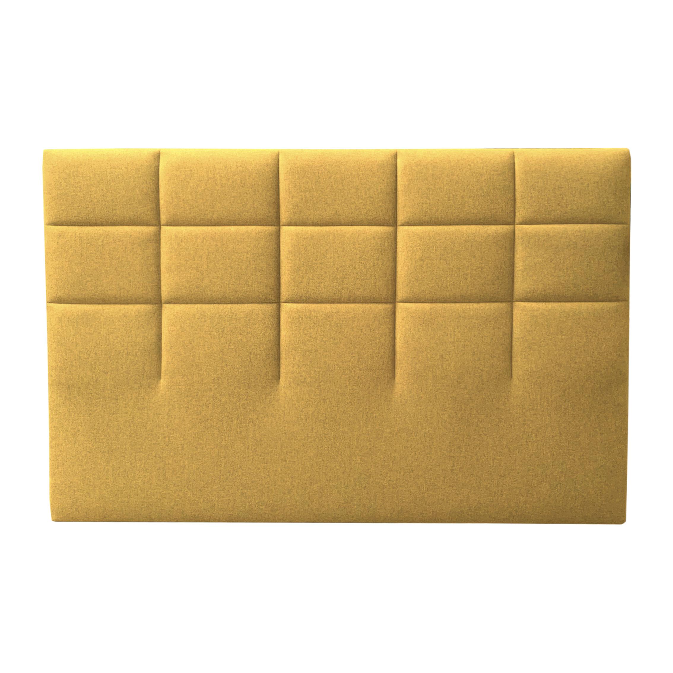 Tête de lit CARRE moutarde