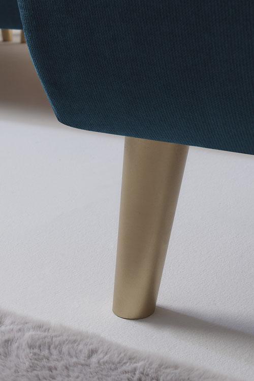 Hera angle panoramique convertible pieds gold xxl