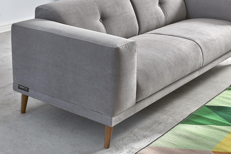 canap panoramique avec pouf luna bobochic. Black Bedroom Furniture Sets. Home Design Ideas